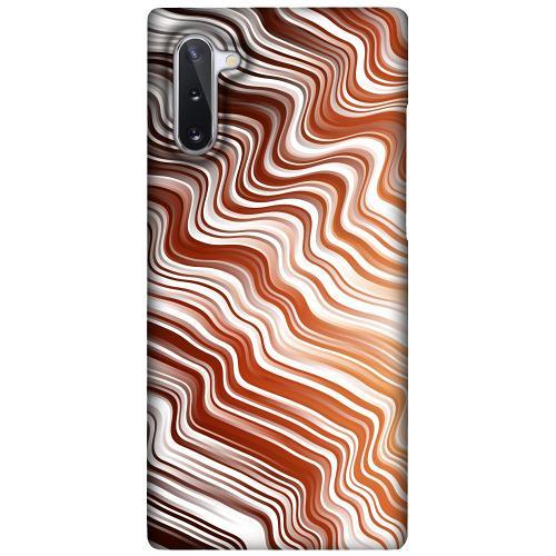 Samsung Galaxy Note 10 LUX Mobilskal (Matt) Distorted Soundwaves