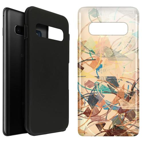 Samsung Galaxy S10 Plus LUX Duo Case Colourful Expectations