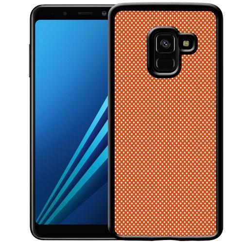 Samsung Galaxy A8 (2018) Mobilskal Orange Droplets