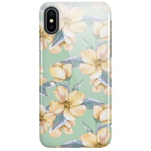 Apple iPhone X / XS LUX Mobilskal (Glansig) Waterproof Flowers