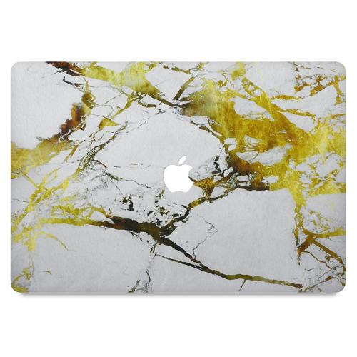 """MacBook Pro 13"""" (ej Touch Bar) Skin Gold Marble"""