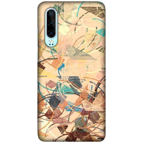 Huawei P30 LUX Mobilskal (Matt) Colourful Expectations