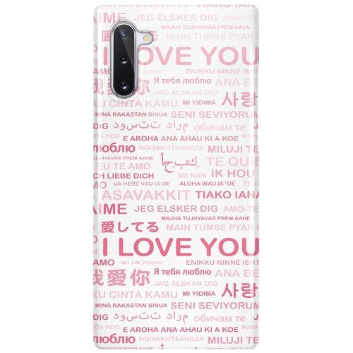 Samsung Galaxy Note 10 LUX Mobilskal (Glansig) International Love