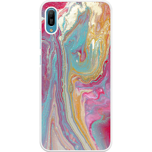 Huawei Y6 (2019) Hard Case (White) Infatuated