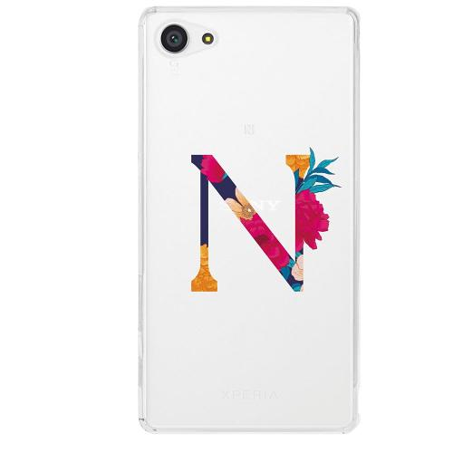 Sony Xperia Z5 Compact Firm Case Bokstaven - N