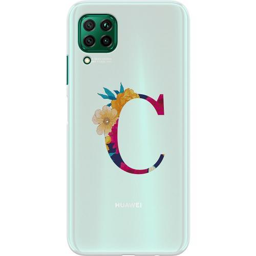 Huawei P40 Lite Thin Case Bokstaven - C