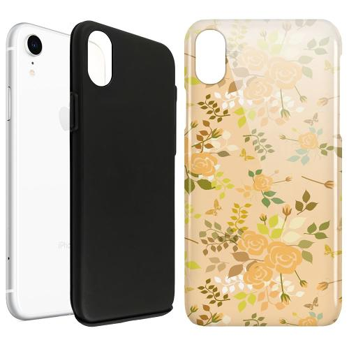 Apple iPhone XR LUX Duo Case Flowery Tapestry