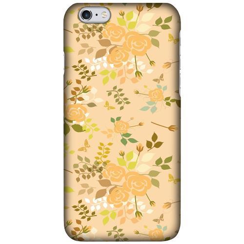Apple iPhone 6 Plus / 6s Plus LUX Mobilskal (Matt) Flowery Tapestry
