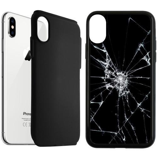 Apple iPhone XS Max Duo Case Svart Crushed Hope