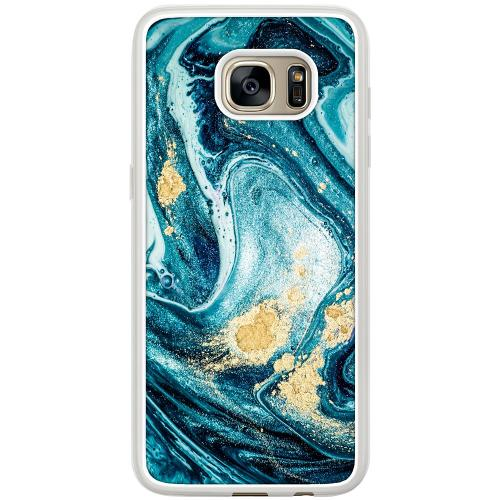 Samsung Galaxy S7 Edge Mobilskal Golden Lavation