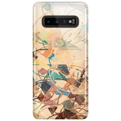 Samsung Galaxy S10 Plus LUX Mobilskal (Glansig) Colourful Expectations