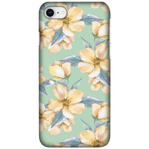 Apple iPhone SE (2020) LUX Mobilskal (Matt) Waterproof Flowers