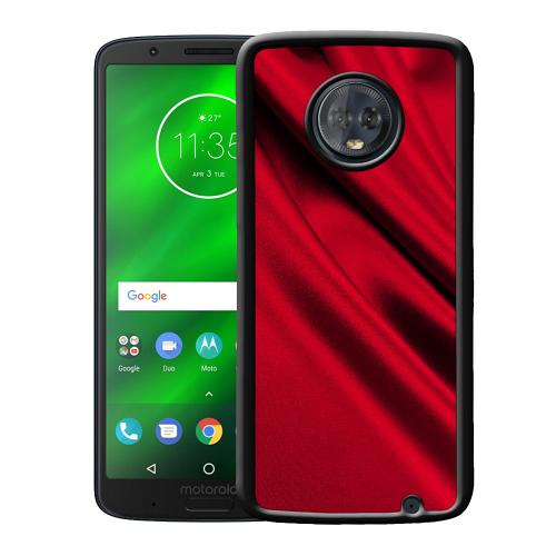 Motorola Moto G6 Plus Mobilskal Shiny Cerise