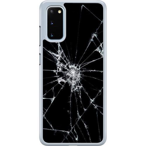 Samsung Galaxy S20 Hard Case (Transparent) Crushed Hope