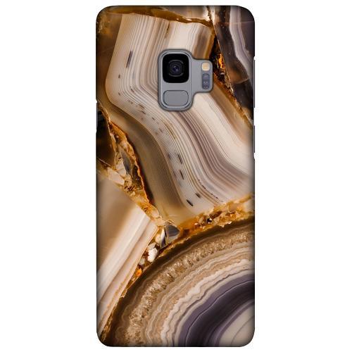 Samsung Galaxy S9 LUX Mobilskal (Matt) Amber Agate