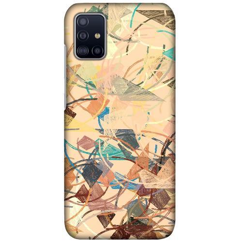 Samsung Galaxy A51 LUX Mobilskal (Matt) Colourful Expectations