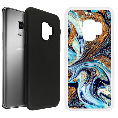 Samsung Galaxy S9 Duo Case Svart Timeslip