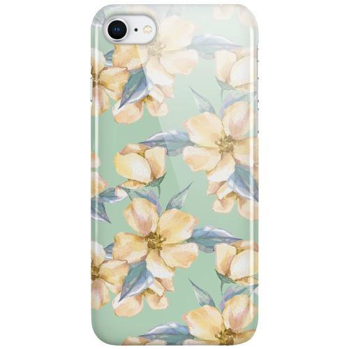 Apple iPhone SE (2020) LUX Mobilskal (Glansig) Waterproof Flowers
