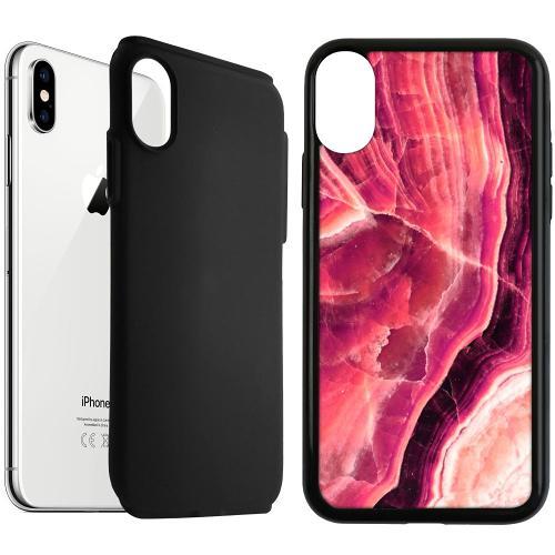 Apple iPhone XS Max Duo Case Svart Metamorphic Ruby