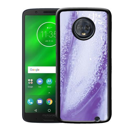 Motorola Moto G6 Plus Mobilskal Glacial Lavendel
