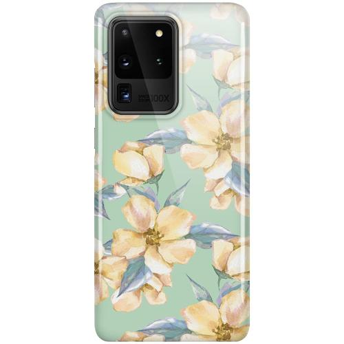 Samsung Galaxy S20 Ultra LUX Mobilskal (Glansig) Waterproof Flowers