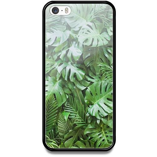Apple iPhone 5 / 5s / SE Mobilskal med Glas Green Conditions