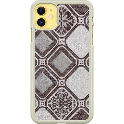 Apple iPhone 11 Hard Case (Transparent) Mosaic Montage