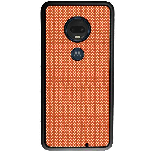 Motorola Moto G7 Plus Mobilskal Orange Droplets