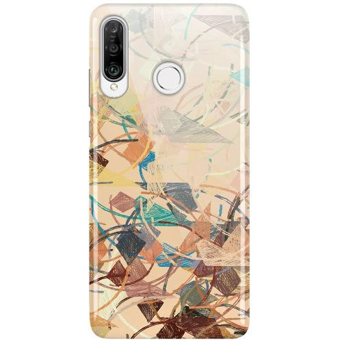 Huawei P30 Lite LUX Mobilskal (Glansig) Colourful Expectations