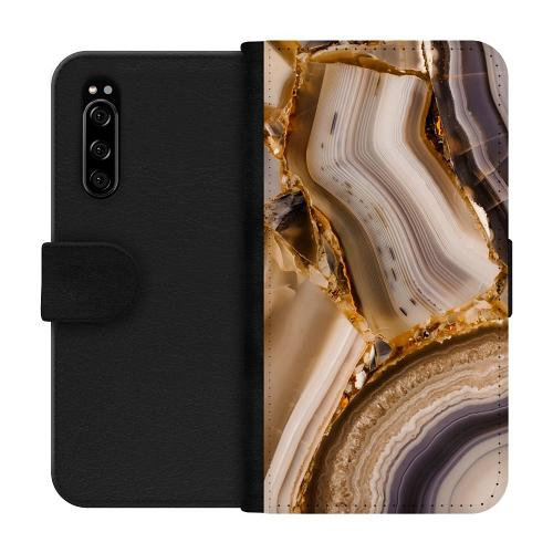 Sony Xperia 5 Plånboksfodral Amber Agate