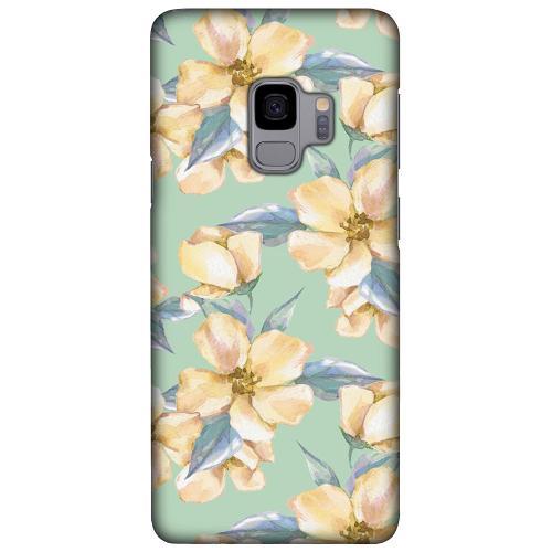 Samsung Galaxy S9 LUX Mobilskal (Matt) Waterproof Flowers