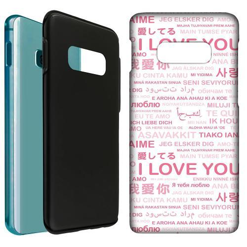 Samsung Galaxy S10e LUX Duo Case International Love