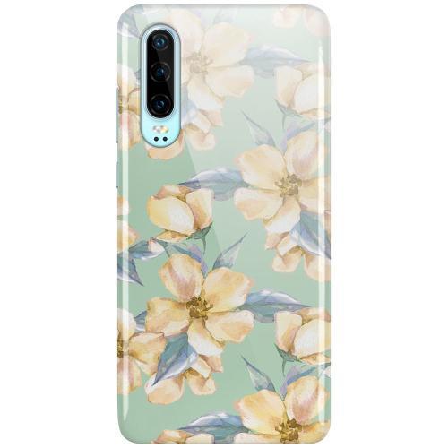 Huawei P30 LUX Mobilskal (Glansig) Waterproof Flowers