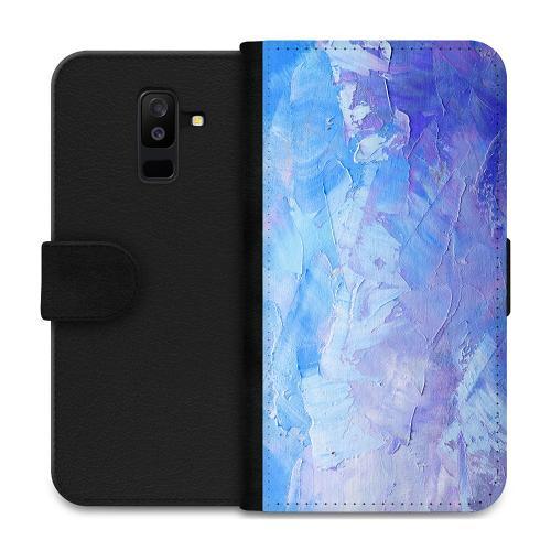 Samsung Galaxy A6 Plus (2018) Plånboksfodral Pristine Pastel Strokes