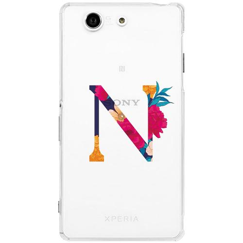 Sony Xperia Z3 Compact Thin Case Bokstaven - N