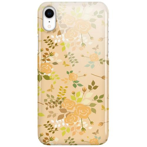 Apple iPhone XR LUX Mobilskal (Glansig) Flowery Tapestry