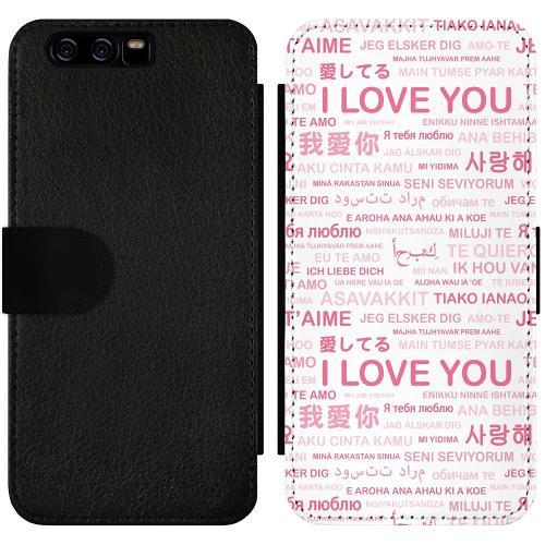 Huawei P10 Wallet Slimcase International Love