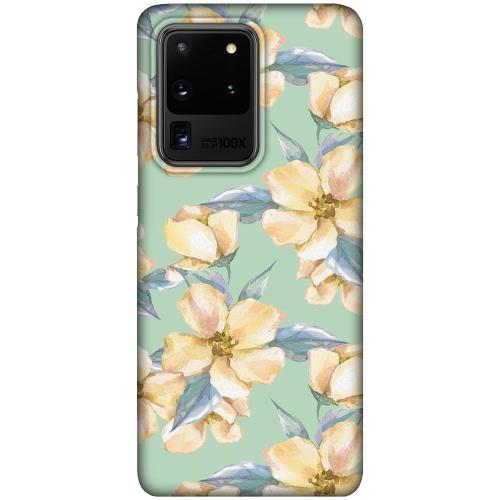 Samsung Galaxy S20 Ultra LUX Mobilskal (Matt) Waterproof Flowers