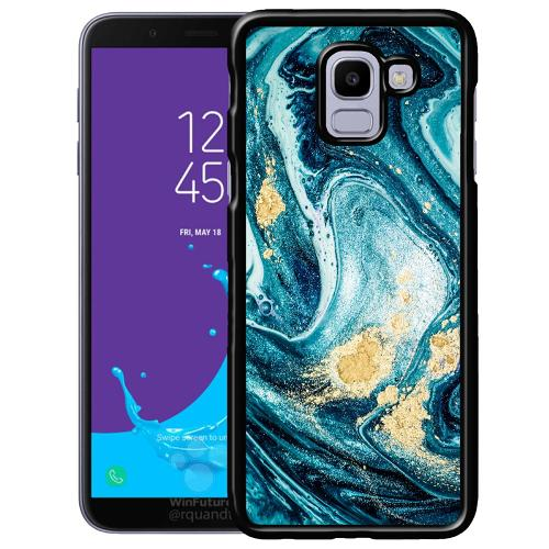 Samsung Galaxy J6 (2018) Mobilskal Golden Lavation