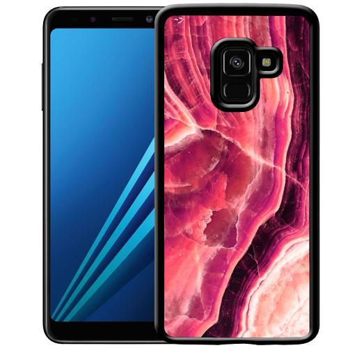 Samsung Galaxy A8 (2018) Mobilskal Metamorphic Ruby