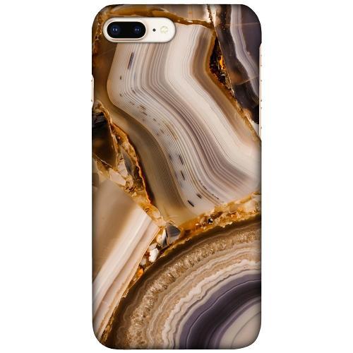 Apple iPhone 7 Plus LUX Mobilskal (Matt) Amber Agate
