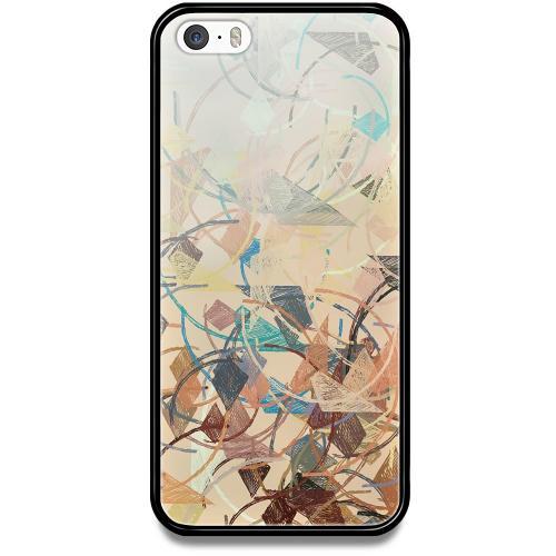 Apple iPhone 5 / 5s / SE Mobilskal med Glas Colourful Expectations