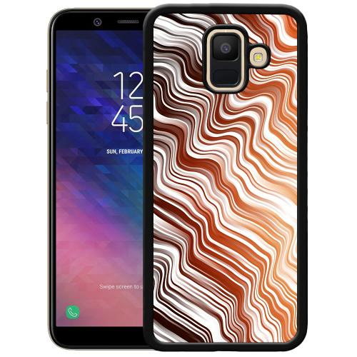 Samsung Galaxy A6 (2018) Mobilskal Distorted Soundwaves