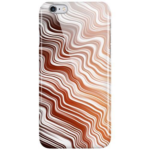 Apple iPhone 6 Plus / 6s Plus LUX Mobilskal (Glansig) Distorted Soundwaves