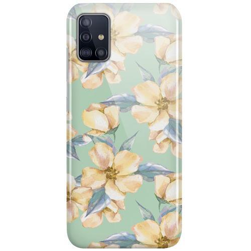 Samsung Galaxy A51 LUX Mobilskal (Glansig) Waterproof Flowers