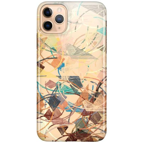 Apple iPhone 11 Pro Max LUX Mobilskal (Glansig) Colourful Expectations