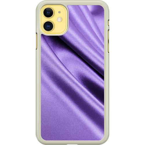 Apple iPhone 11 Hard Case (Transparent) Silky Lavendel