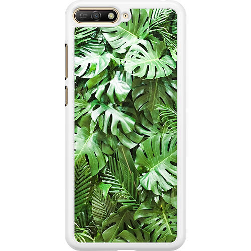 Huawei Y6 (2018) Hard Case (White) Green Conditions