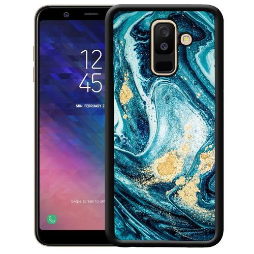 Samsung Galaxy A6 Plus (2018) Mobilskal Golden Lavation