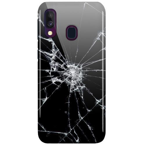Samsung Galaxy A40 LUX Mobilskal (Glansig) Crushed Hope